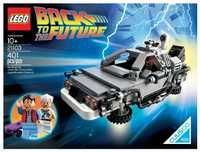 LEGO Cuusoo 21103 Машина времени DeLorean