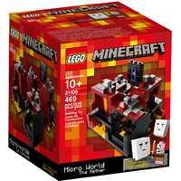 LEGO Minecraft 21106 Микромир: Нижний мир