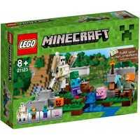 LEGO Minecraft 21123 Железный Голем