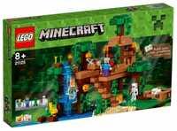 LEGO Minecraft 21125 Домик на дереве в джунглях