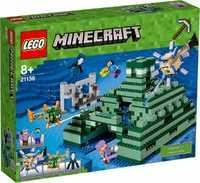 LEGO Minecraft 21136 Подводная крепость