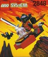 LEGO System 2848 FRIGHT KNIGHTS FLYING MACHINE