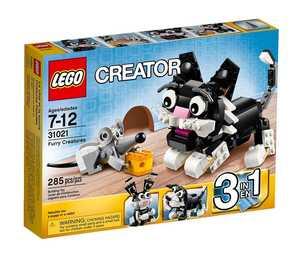 LEGO Creator 31021 Пушистые зверушки