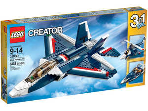 LEGO Creator 31039 Синий реактивный самолет