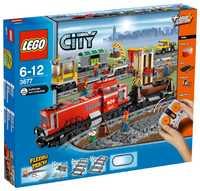 LEGO City 3677 Красный грузовой поезд