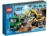 LEGO City 4203 Экскаватор и транспортёр