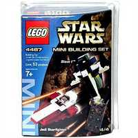 LEGO Star Wars 4487 MINI JEDI STARFIGHTER & SLAVE I