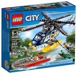 LEGO City 60067 Погоня на полицейском вертолете