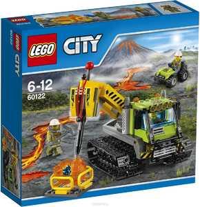 LEGO City 60122 Гусеничный трактор исследователей вулканов
