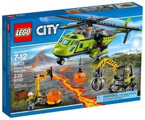 LEGO City 60123 Транспортный вертолет исследователей вулканов