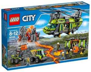 LEGO City 60125 Грузовой вертолет исследователей вулканов