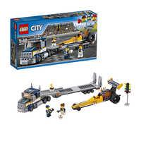 LEGO City 60151 Грузовик для перевозки драгстера