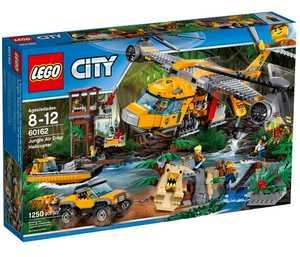 LEGO City 60162 Вертолёт для доставки грузов в джунгли
