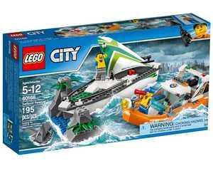 LEGO City 60168 Операция по спасению парусной лодки