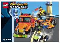 LEGO Island Xtreme Stunts 6739 Truck & Stunt Trikes