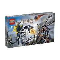 LEGO Vikings 7021 Двойная катапульта викингов против дракона Офнира