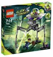 LEGO Alien Conquest 7051 Трехногий захватчик