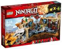 LEGO Ninjago 70596 Пещерный хаос Самурая Икс