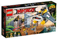 LEGO The Ninjago Movie 70609 Бомбардировщик Морской дьявол