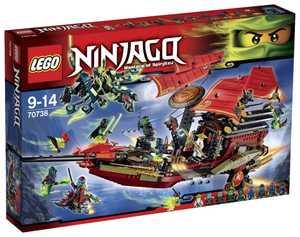 """LEGO Ninjago 70738 Последний полет """"Дара судьбы"""""""