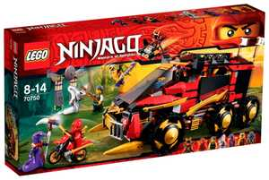 LEGO Ninjago 70750 Мобильная база Ниндзя