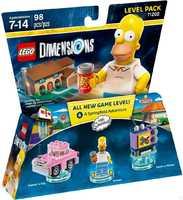 LEGO Dimensions 71202 Симпсоны