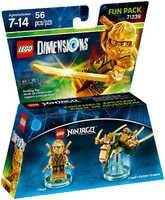 LEGO Dimensions 71239 Золотой Ниндзя