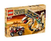 LEGO Pharaohs Quest 7325 Проклятая статуя кобры