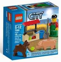 LEGO City 7566 Фермер