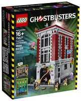 LEGO Ghostbusters 75827 Штаб-квартира в пожарном депо