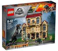 LEGO Jurassic World 75930 Нападение Индораптора в поместье Локвуд