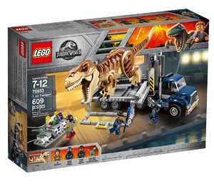 LEGO Jurassic World 75933 Транспорт для перевозки Ти-Рекса