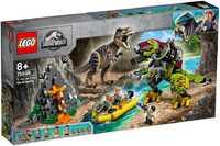 Lego Jurassic World 75938 Бой тираннозавра и робота-динозавра