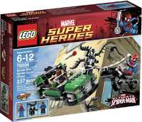 LEGO Marvel Super Heroes 76004 Охота со спайдер-циклом