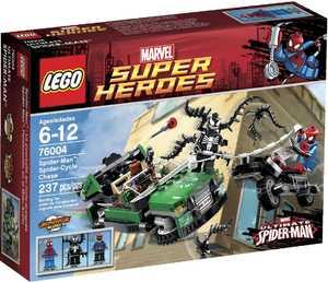 LEGO Super Heroes 76004 Охота со спайдер-циклом