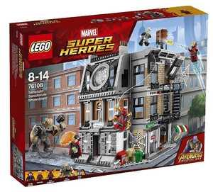 LEGO Marvel Super Heroes 76108 Решающий бой в Санктум Санкторум