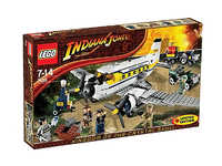 LEGO Indiana Jones 7628 Возврат редких кристальных черепов