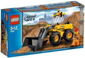 LEGO City 7630 Трактор-погрузчик