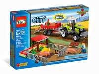 LEGO City 7684 Свиноферма и трактор