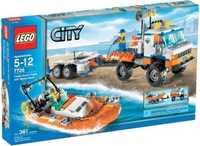 LEGO City 7726 Грузовик береговой охраны и скоростной катер