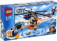 LEGO City 7738 Вертолет береговой охраны и спасательный плот