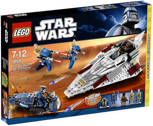 LEGO Star Wars 7868 Звездный истребитель Мэйса Винду