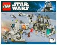 LEGO Star Wars 7879 База Эхо на планете Хот