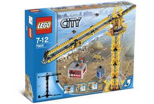 LEGO City 7905 Большой строительный кран