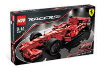 LEGO Racers 8157 ФЕРРАРИ F1 В МАСШТАБЕ 1:9