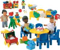 LEGO Education PreSchool 9215 Дочки-матери