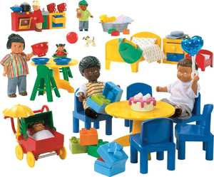 LEGO Education PreSchool 9215 Дочки-матери