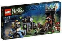 LEGO Monster Fighters 9466 Сумасшедший ученый и его Монстр