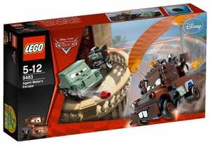 LEGO Cars 9483 Побег агента Мэтра
