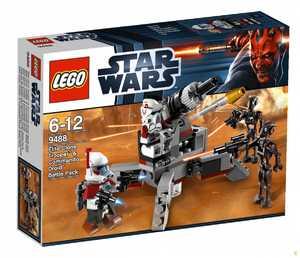 LEGO Star Wars 9488 Боевой Комплект: Клоны СРП и Дроиды–Диверсанты
